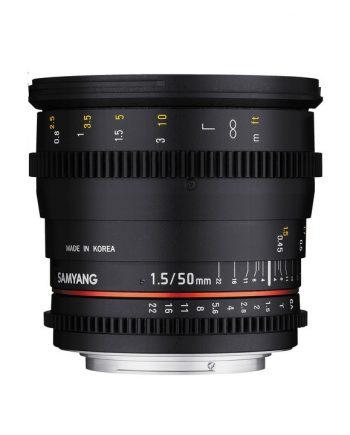 لنز Samyang 50 T1.5-Canon