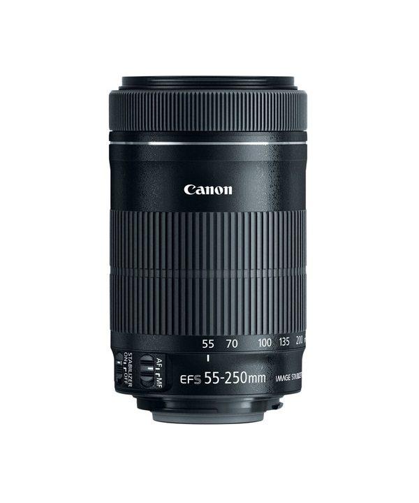 لنز Canon 55-250 f/4 IS STM