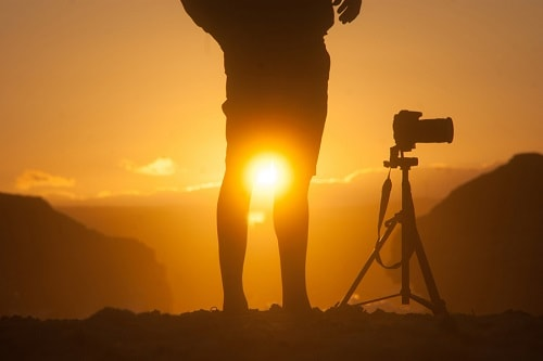 عکاسی در طلوع و غروب خورشید