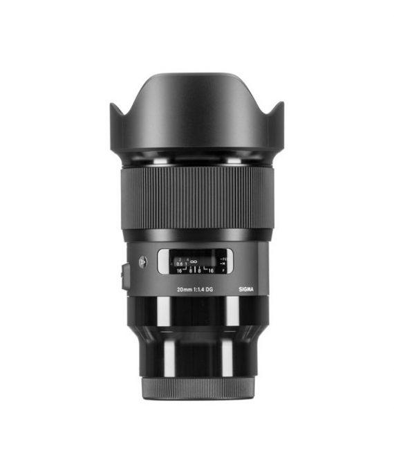 لنز Sigma 20 f/1.4 Art-Sony
