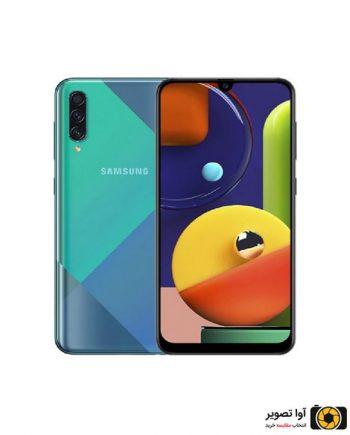 گوشی سامسونگ Galaxy A50s ظرفیت 128 گیگابایت سبز