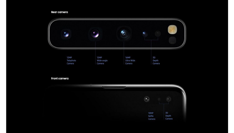 گوشی سامسونگ Galaxy S10 ظرفیت 128 گیگابایت مشکی