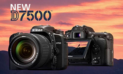 دوربین نیکون D7500 با لنز 18-140
