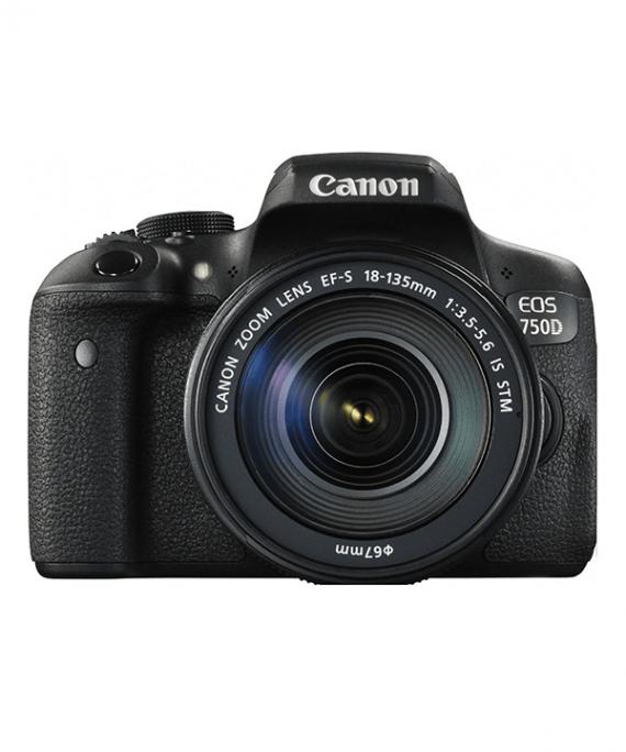 دوربین کانن 750d با لنز 18-135