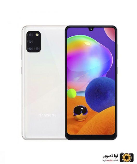 گوشی سامسونگ Galaxy A31 ظرفیت 128 گیگابایت سفید
