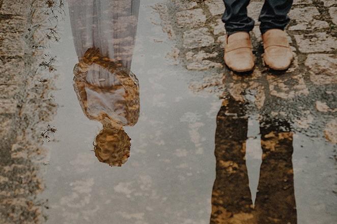 عکاسی با استفاده از گودال آب