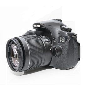 کانن 60D کارکرده با لنز 55-18