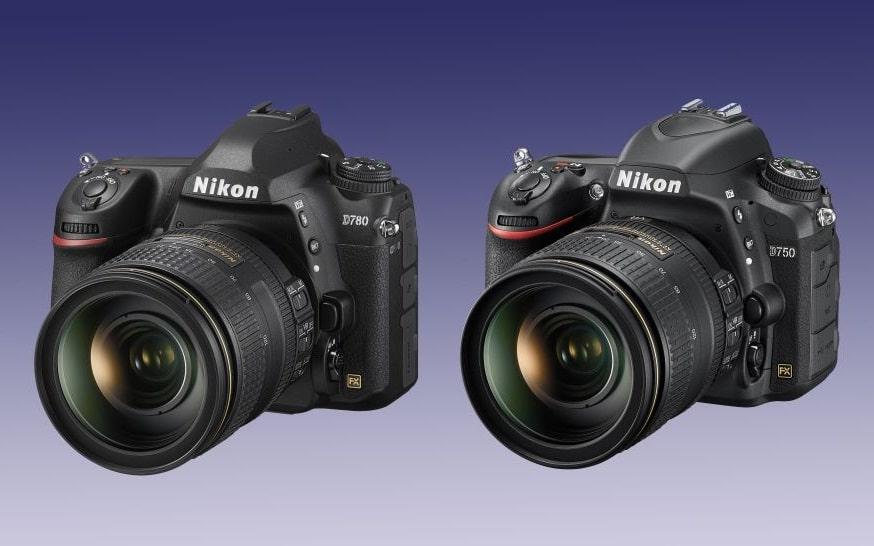 مقایسه نیکون D780 و D750