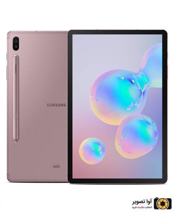تبلت سامسونگ Galaxy Tab S6 ظرفیت 128 گیگابایت طلایی