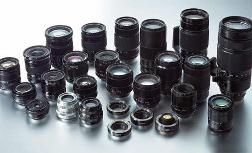 بررسی انواع لنز