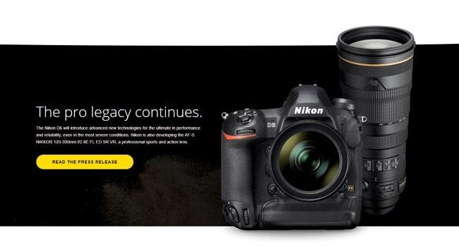 این تصویر دارای صفت خالی alt است؛ نام پروندهٔ آن Nikon-D6-release-date-1-1-min.jpg است