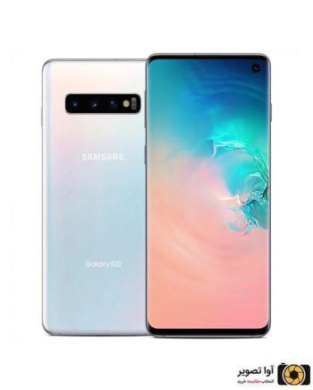 گوشی سامسونگ Galaxy S10 ظرفیت 128 گیگابایت سفید