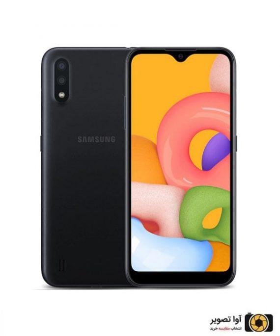 گوشی سامسونگ Galaxy A01 ظرفیت 16 گیگابایت مشکی