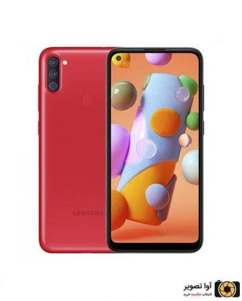 گوشی سامسونگ Galaxy A11 ظرفیت 32 گیگابایت قرمز