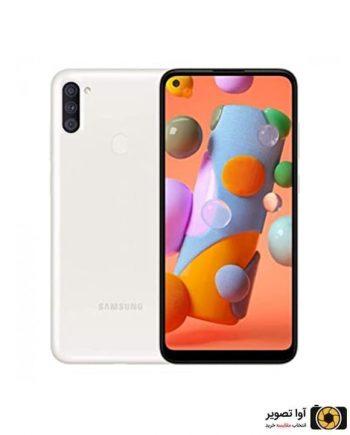 گوشی سامسونگ Galaxy A11 ظرفیت 32 گیگابایت سفید
