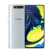 گوشی سامسونگ Galaxy A80 ظرفیت 128 گیگابایت نقره ای