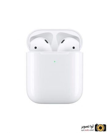 ایرپاد اپل مدل AirPods 2 وایرلس شارژ