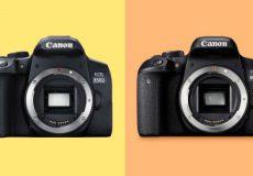 مقایسه دوربین کانن 800D با 850D
