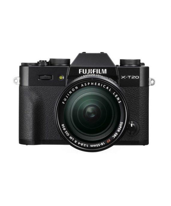 دوربین فوجی X-T20 با لنز 55-18 مشکی
