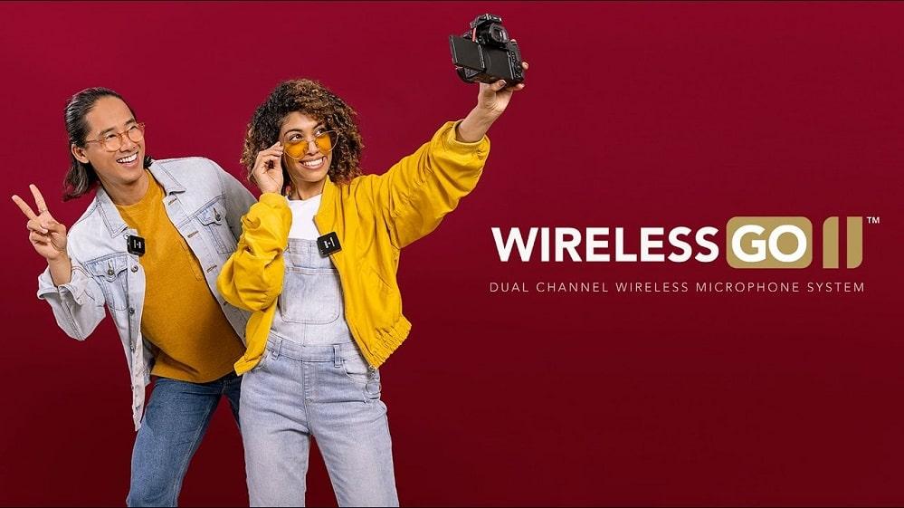 میکروفون Rode Wireless GO II