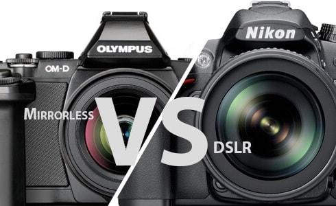 تفاوت دوربین DSLR و بدون آینه