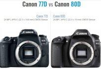 مقایسه دوربین کانن 80D و 77D