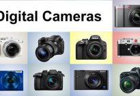 انواع مختلف دوربین های دیجیتال