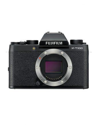 دوربین فوجی X-T100 بدون لنز مشکی