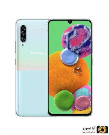 گوشی سامسونگ Galaxy A90 ظرفیت 128 گیگابایت سفید